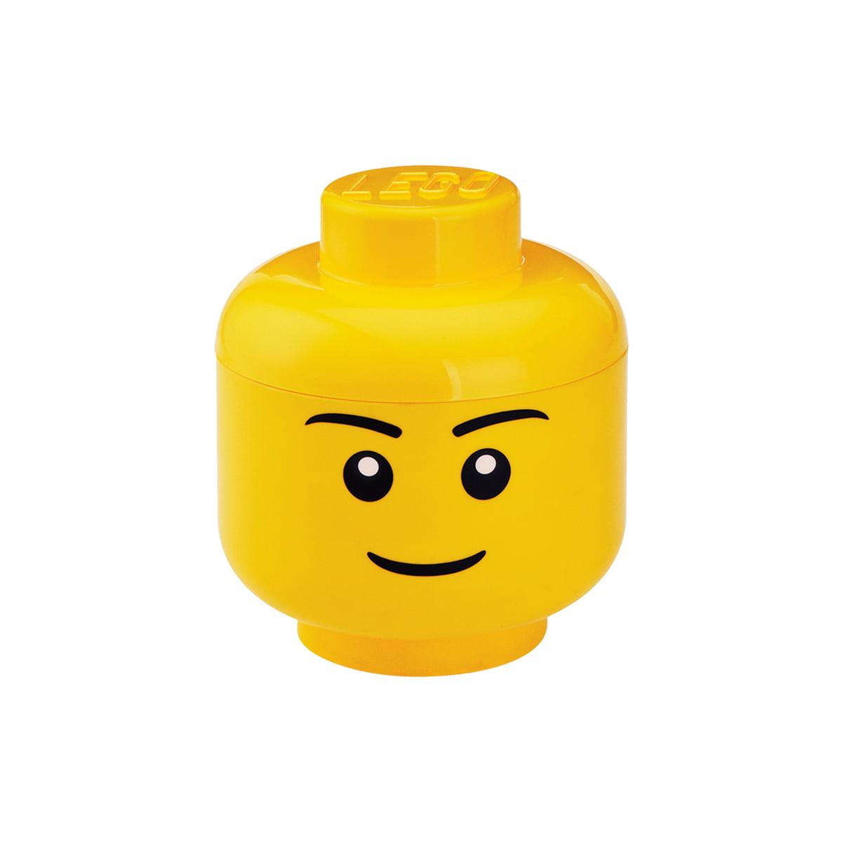 gelb groß Room Copenhagen LEGO Storage Head Whinky Aufbewahrungsbox
