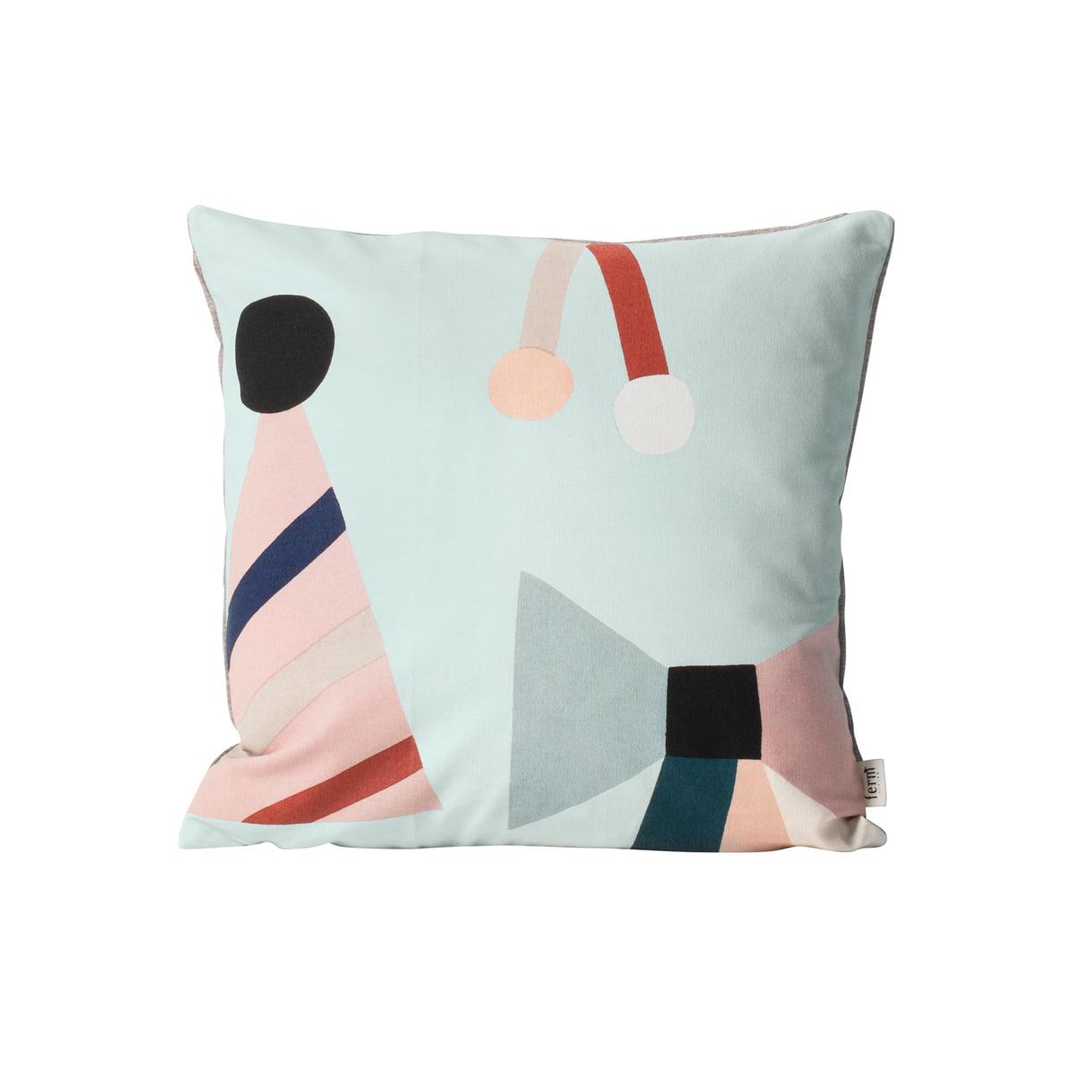 party und seaside kissen von ferm living connox. Black Bedroom Furniture Sets. Home Design Ideas