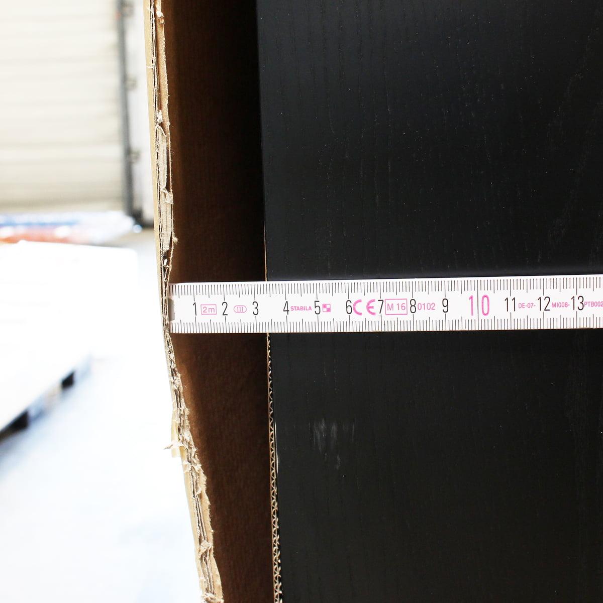 Design Sale - Andersen Furniture - S3 Kommode, Eiche schwarz lackiert/ Fronten weiß