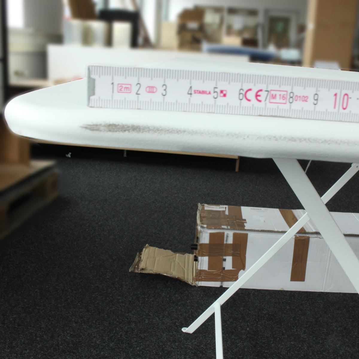 Design Sale - Fermob - Bistro Klapptisch, rechteckig, 117 x 77 cm, baumwollweiß
