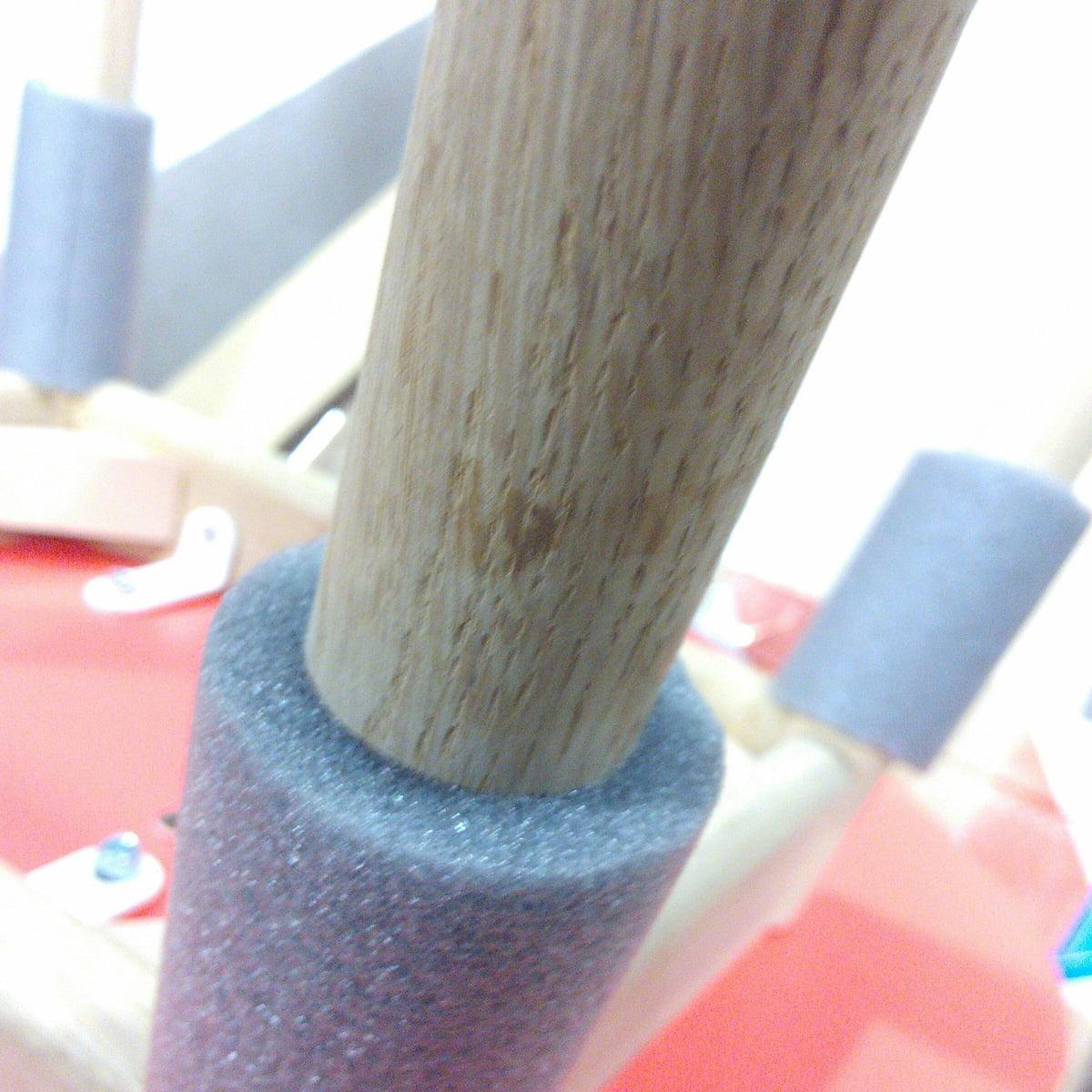 Design Sale - Hay - About A Chair AAC 12, Eiche geseift / korallenrot (Filzgleiter)