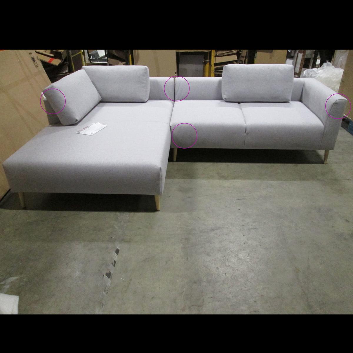 Design Sale - freistil - 162 Sofaecke Récamiere links