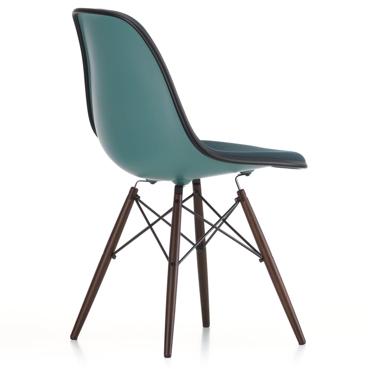 Eames Plastic Side Chair Dsw Vollpolster Von Vitra Connox
