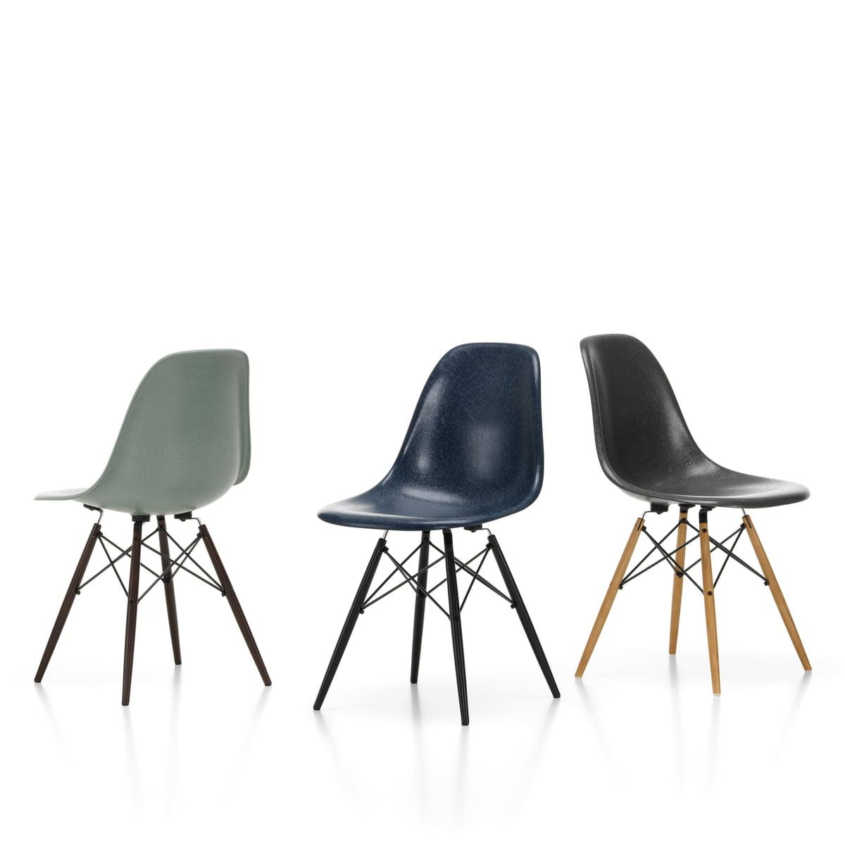 Chair Side VitraConnox Fiberglass Von Eames Dsw 67vgfybY