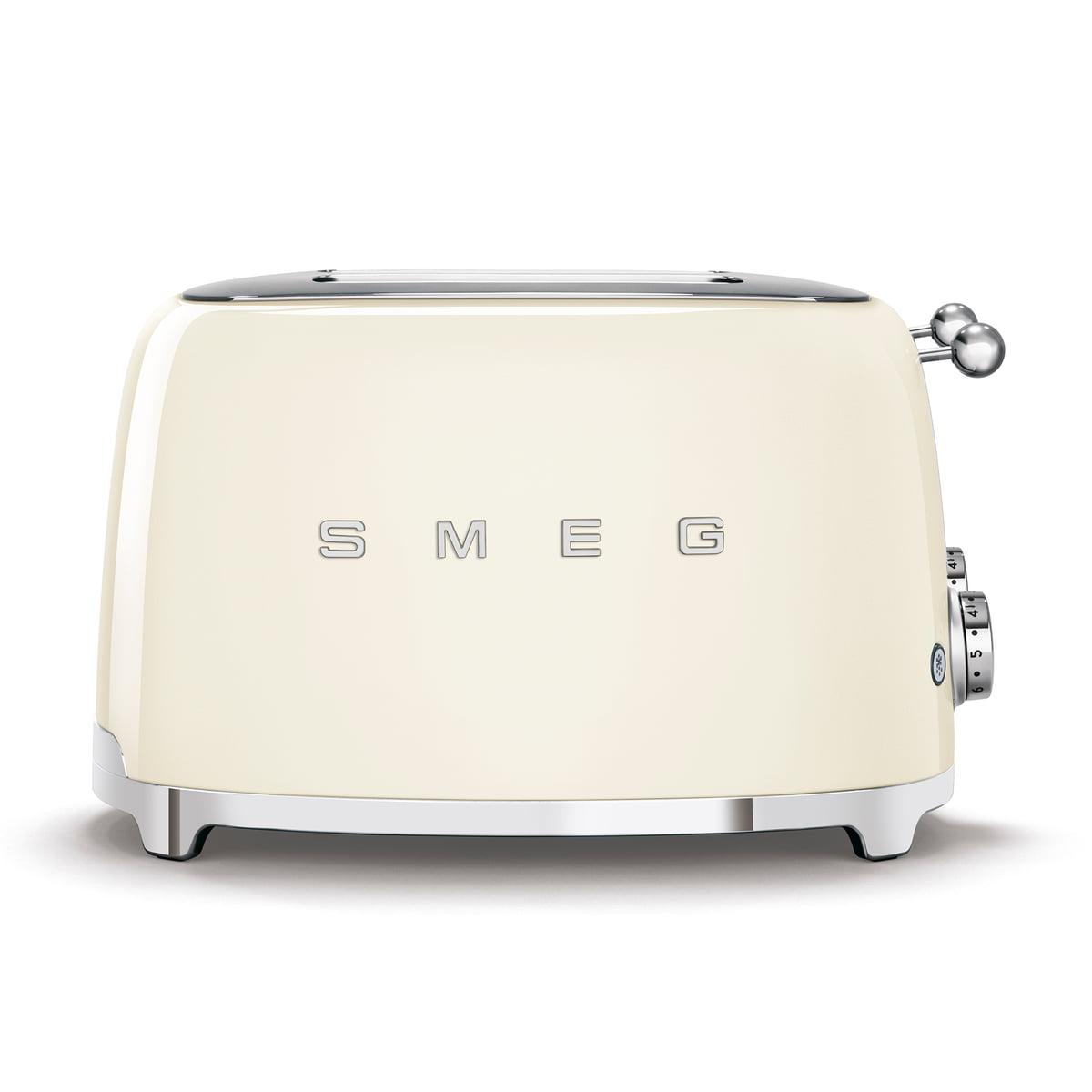 4 scheiben toaster tsf03 von smeg connox. Black Bedroom Furniture Sets. Home Design Ideas