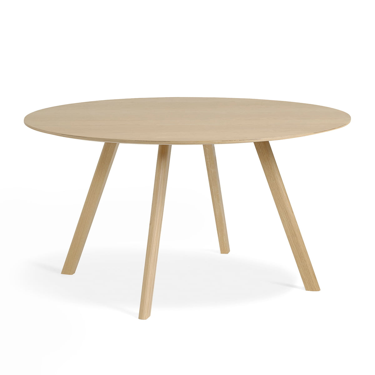 Hay Copenhague CPH25 Tisch Ø 140 cm, Eiche matt lackiert