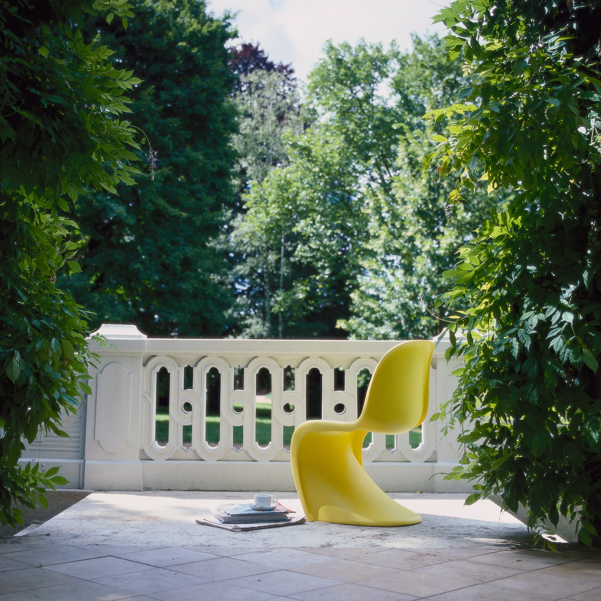 panton chair original stuhl von vitra connox. Black Bedroom Furniture Sets. Home Design Ideas