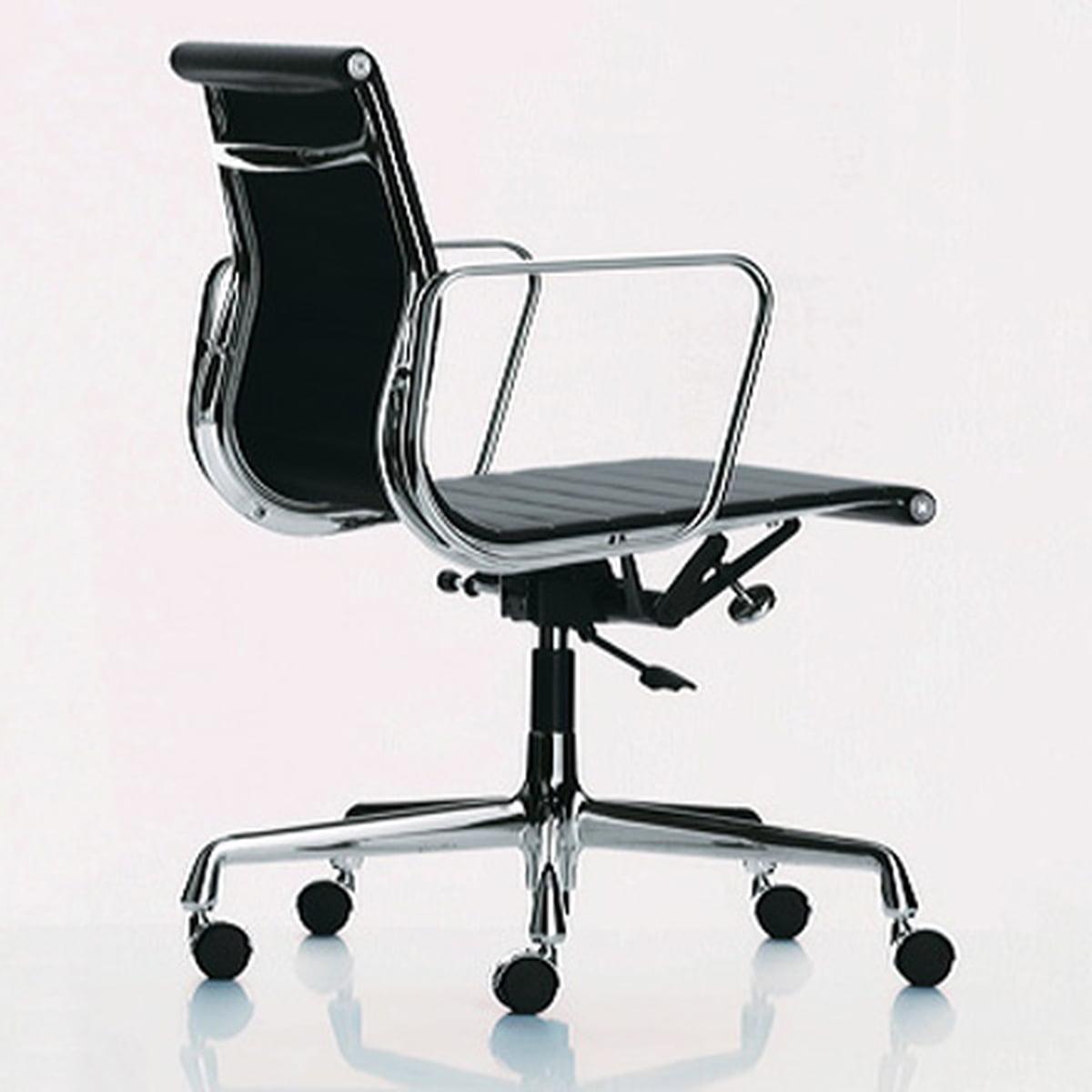 Vitra Schreibtischstuhl aluminium ea 117 bürostuhl vitra connox