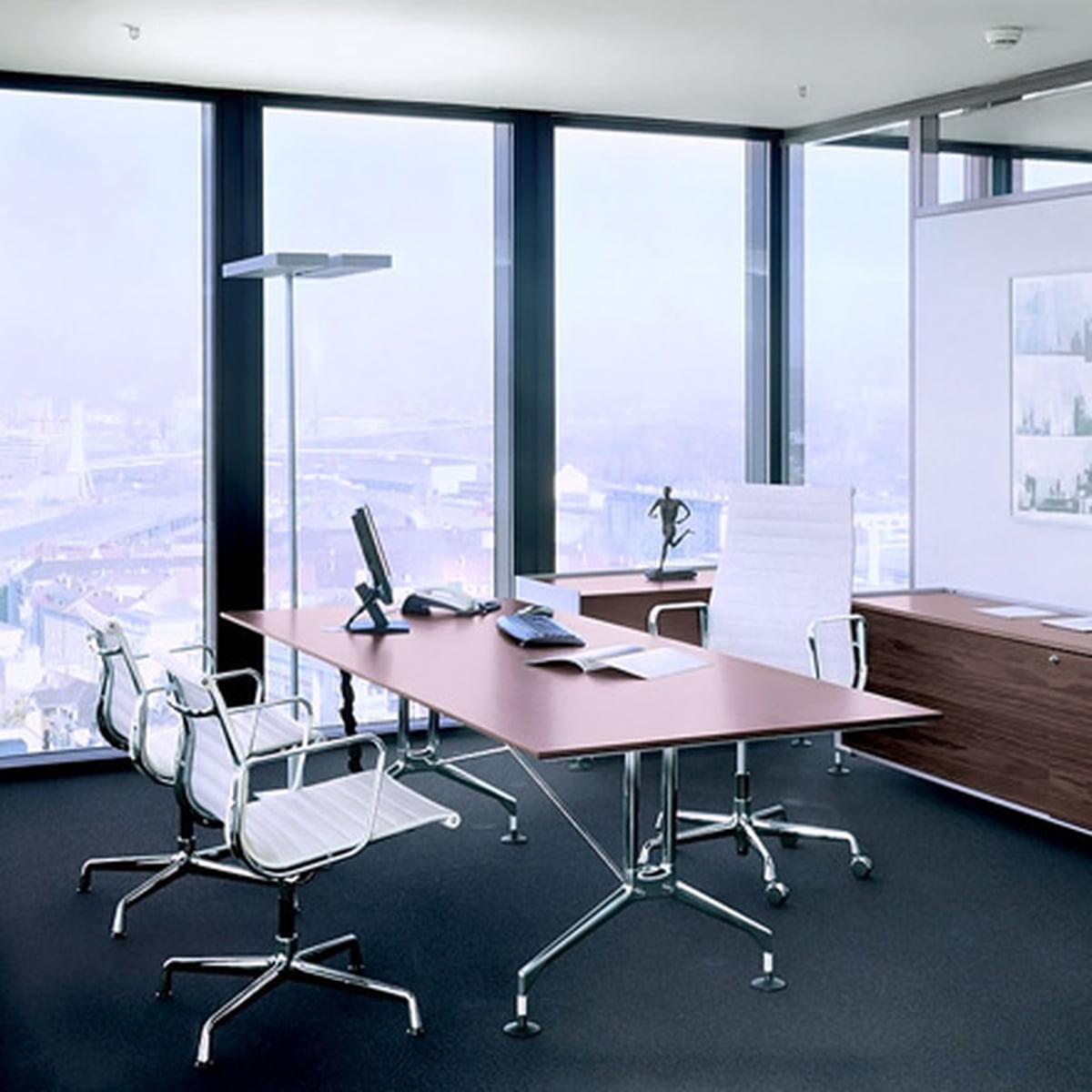 aluminium group ea 117 b rostuhl von vitra connox. Black Bedroom Furniture Sets. Home Design Ideas