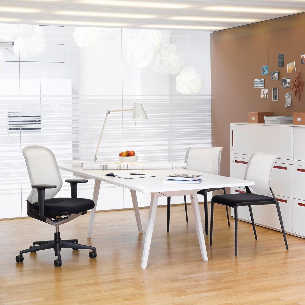 vitra medaslim stuhl - Hausliches Arbeitszimmer Gestalten Einrichtungsideen