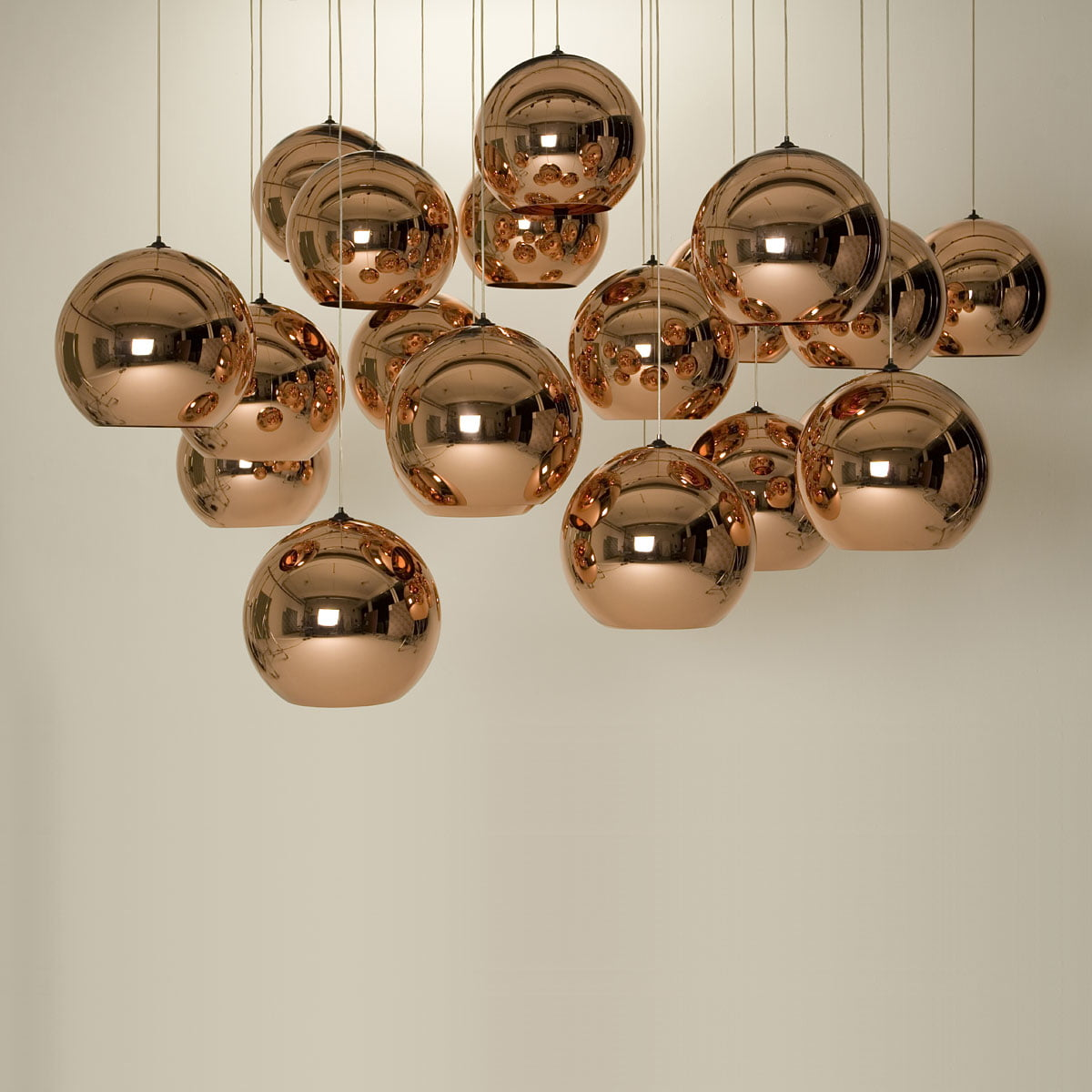 copper pendelleuchte von tom dixon im shop. Black Bedroom Furniture Sets. Home Design Ideas