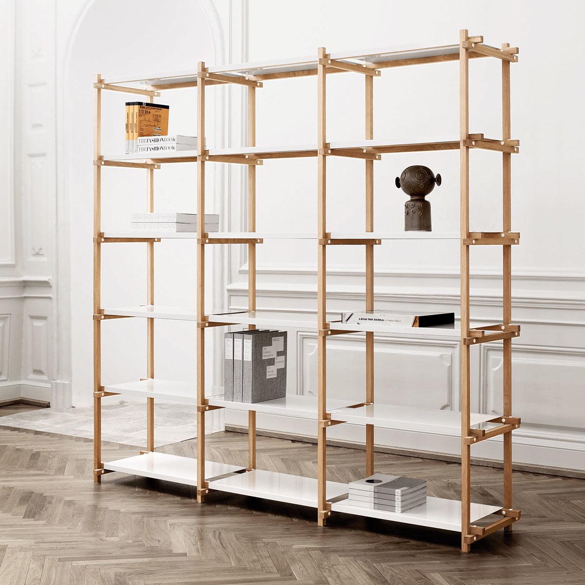 woody regal von hay connox shop. Black Bedroom Furniture Sets. Home Design Ideas