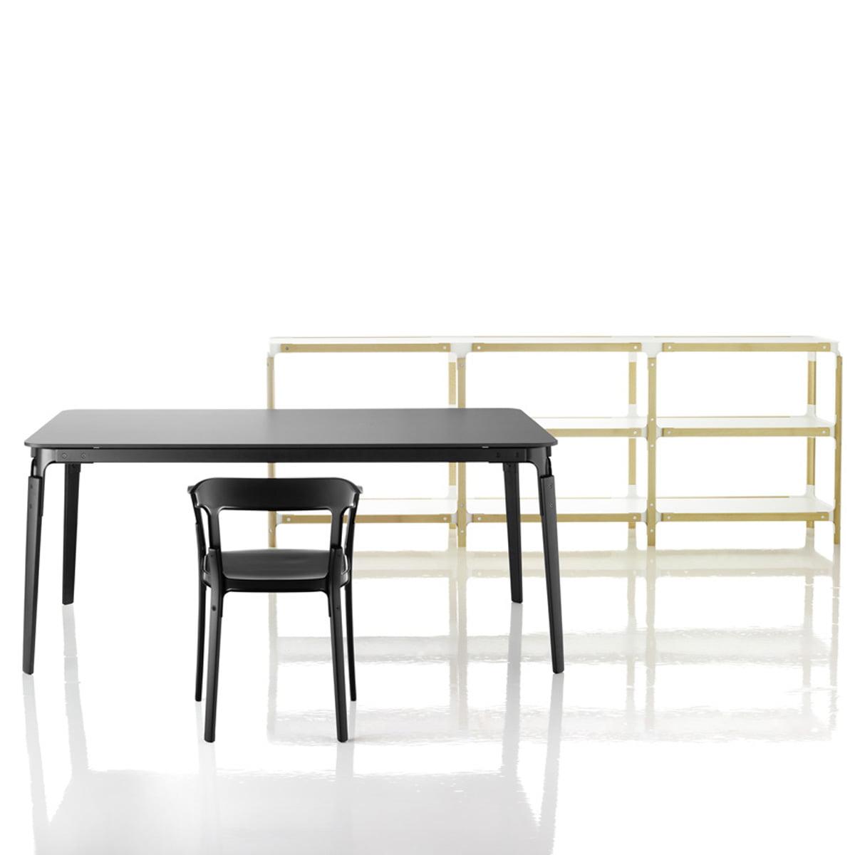 steelwood tisch magis shop. Black Bedroom Furniture Sets. Home Design Ideas