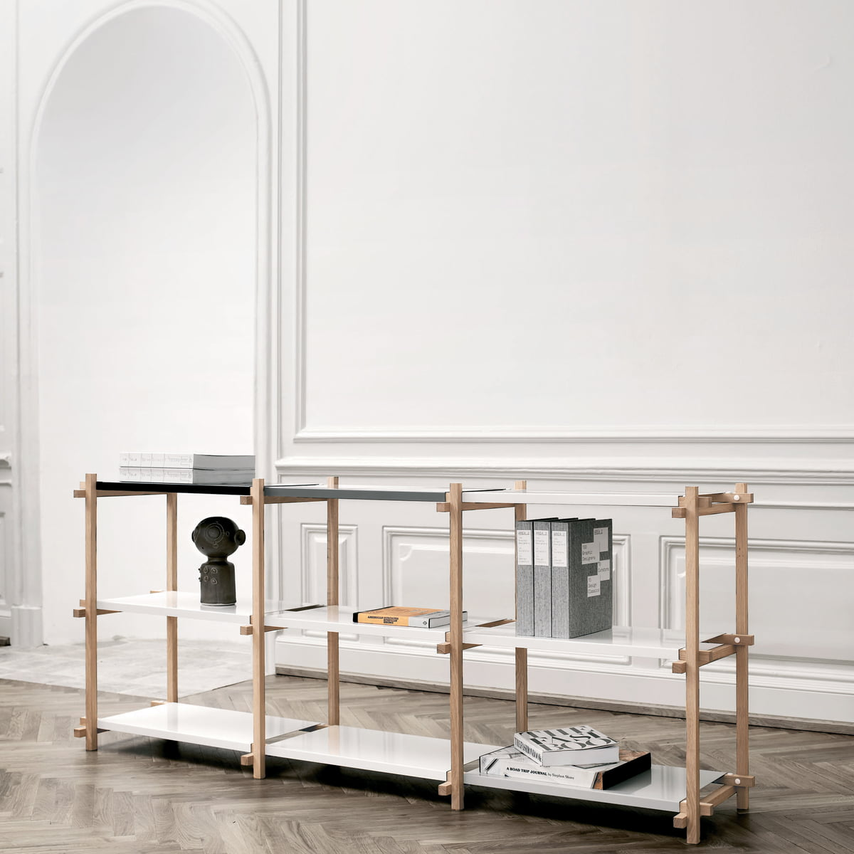 woody sideboard von hay im wohndesign shop. Black Bedroom Furniture Sets. Home Design Ideas