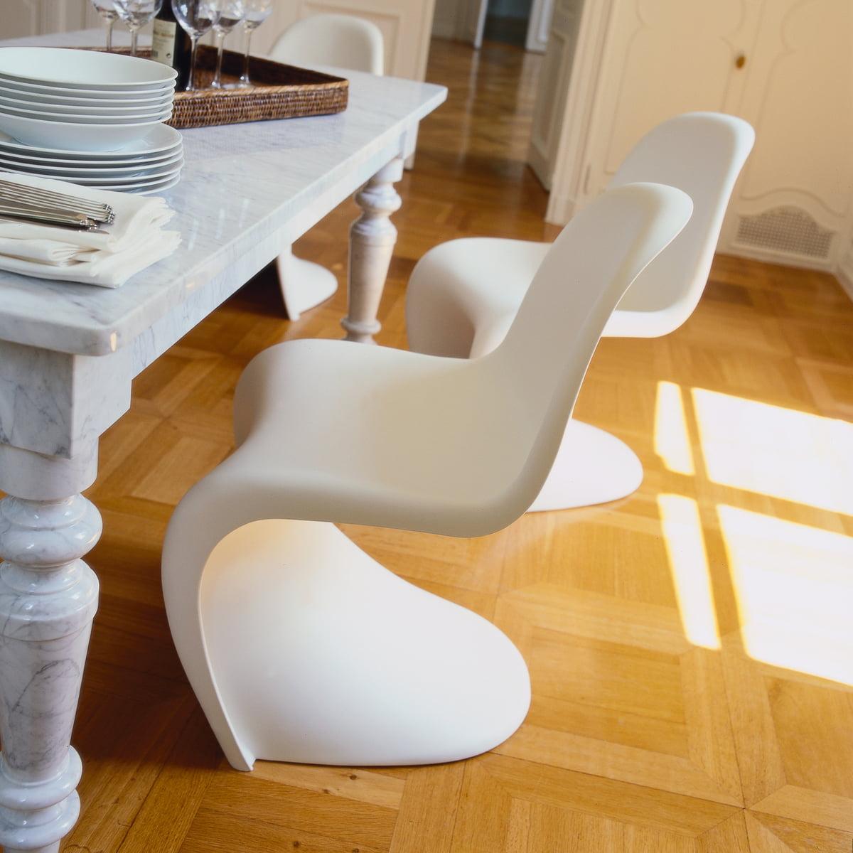 Panton chair original stuhl von vitra connox - Designer stuhl vitra ...