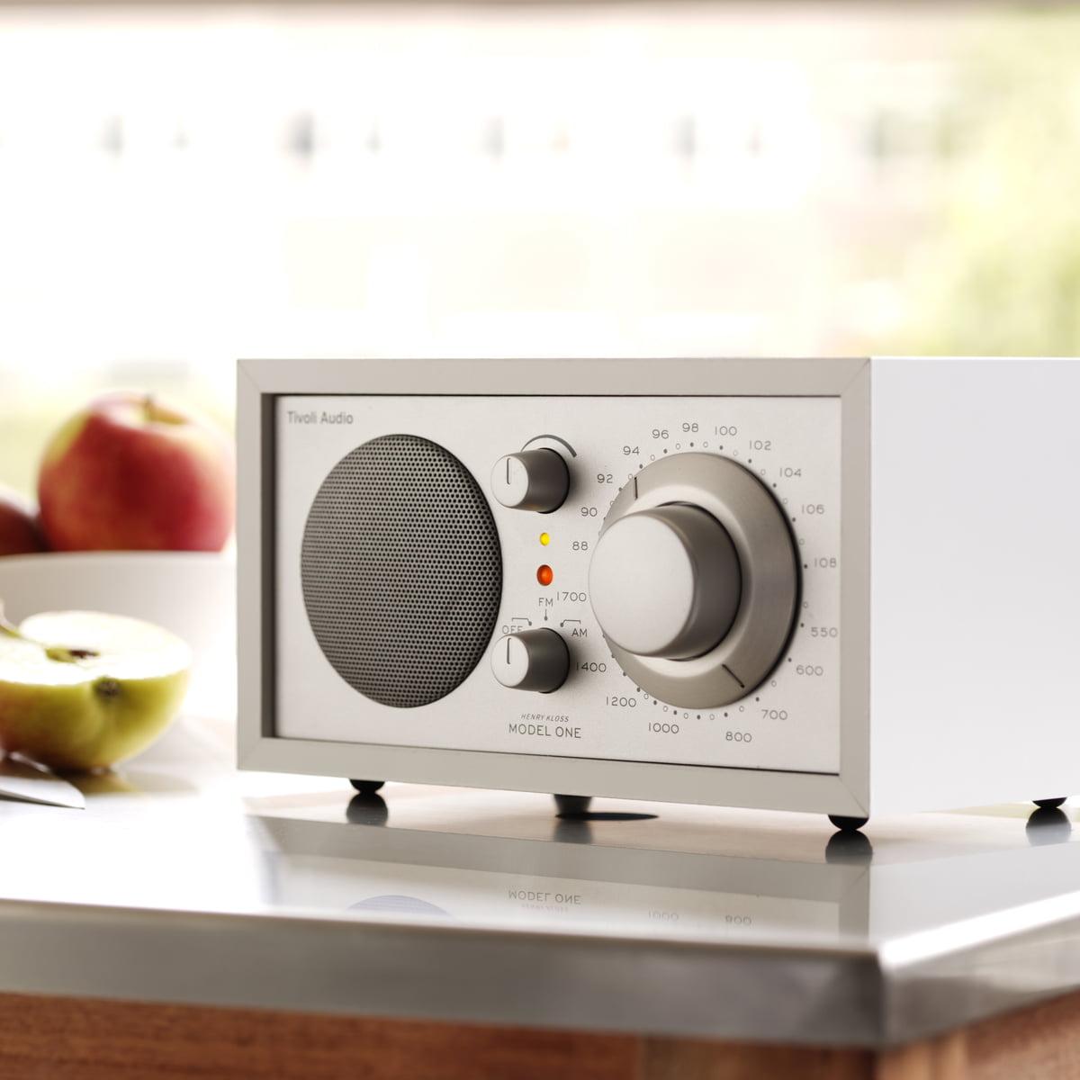 model one mono radio von tivoli audio connox. Black Bedroom Furniture Sets. Home Design Ideas