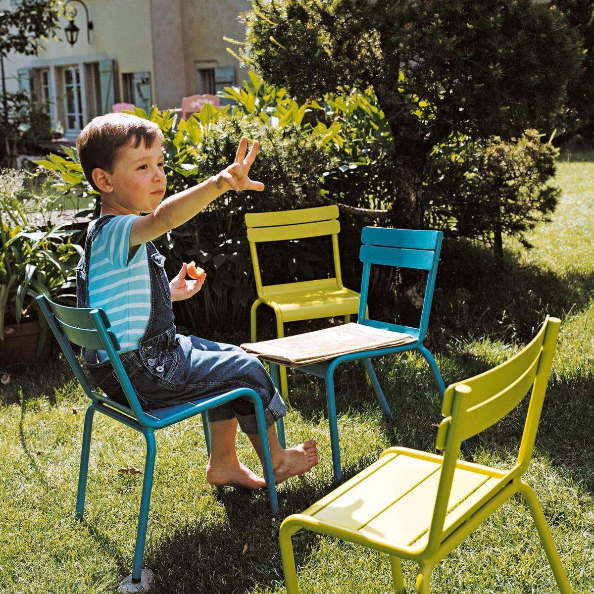 luxembourg kid kinderstuhl von fermob connox. Black Bedroom Furniture Sets. Home Design Ideas