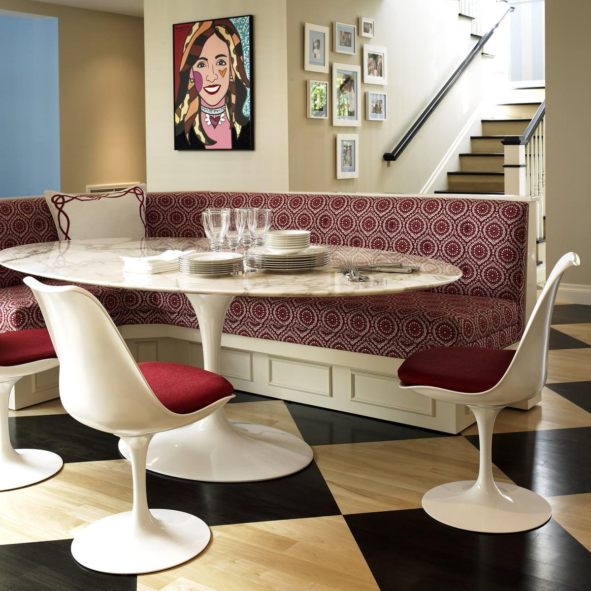 Saarinen tulip stuhl von knoll connox - Maison moderne diningchair ...