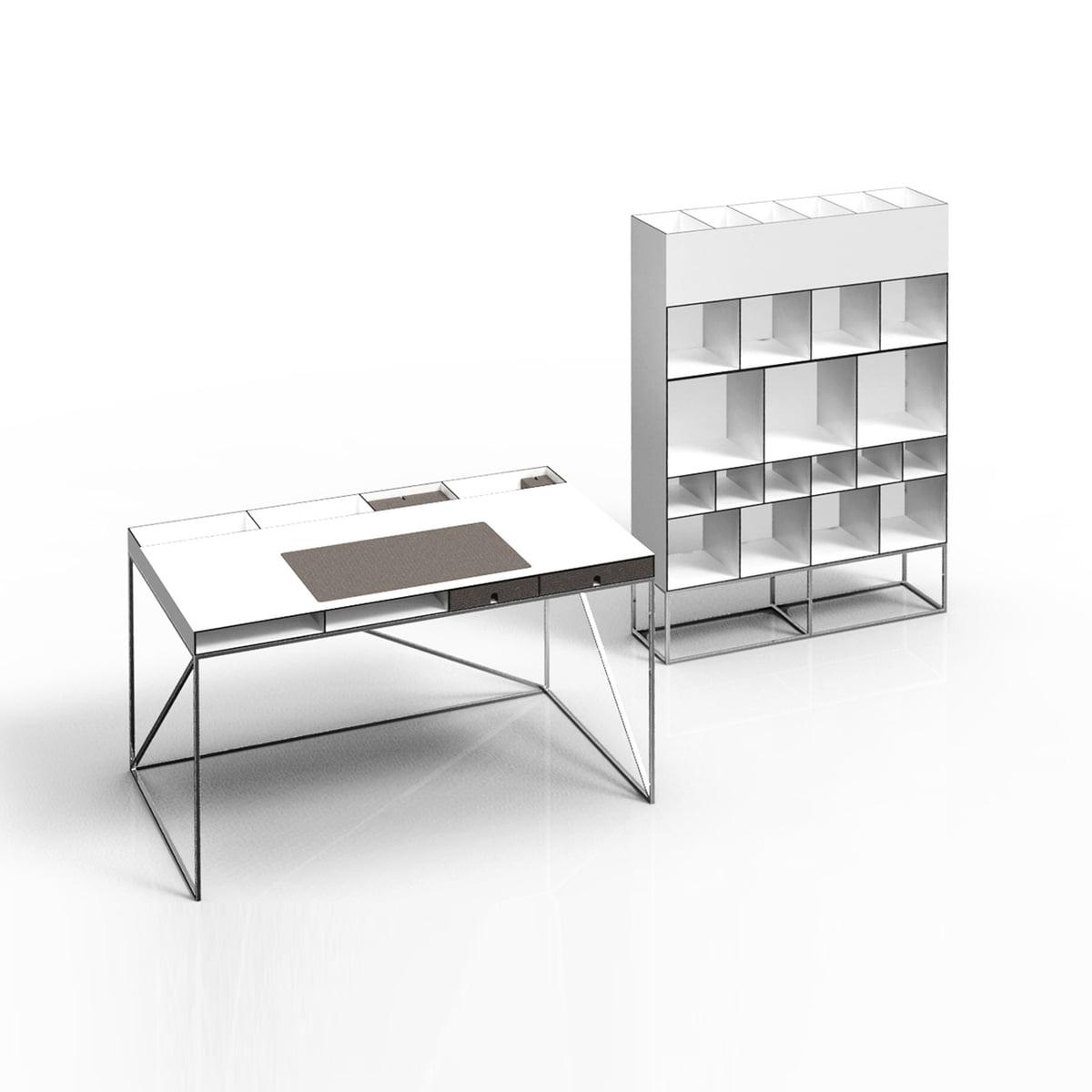 Wogg 54 schreibtisch im wohndesign shop for Schreibtisch shop