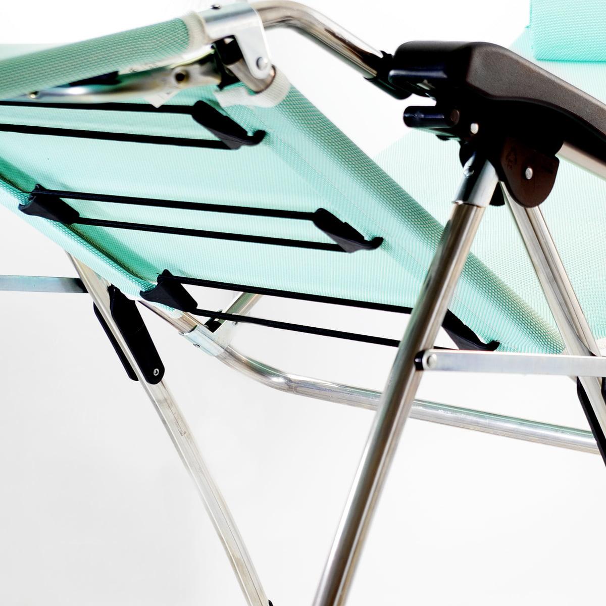 amida aluminium relaxliege von fiam connox. Black Bedroom Furniture Sets. Home Design Ideas