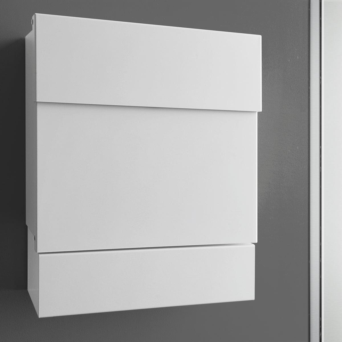 briefkasten letterman v mit zeitungsrolle von radius. Black Bedroom Furniture Sets. Home Design Ideas