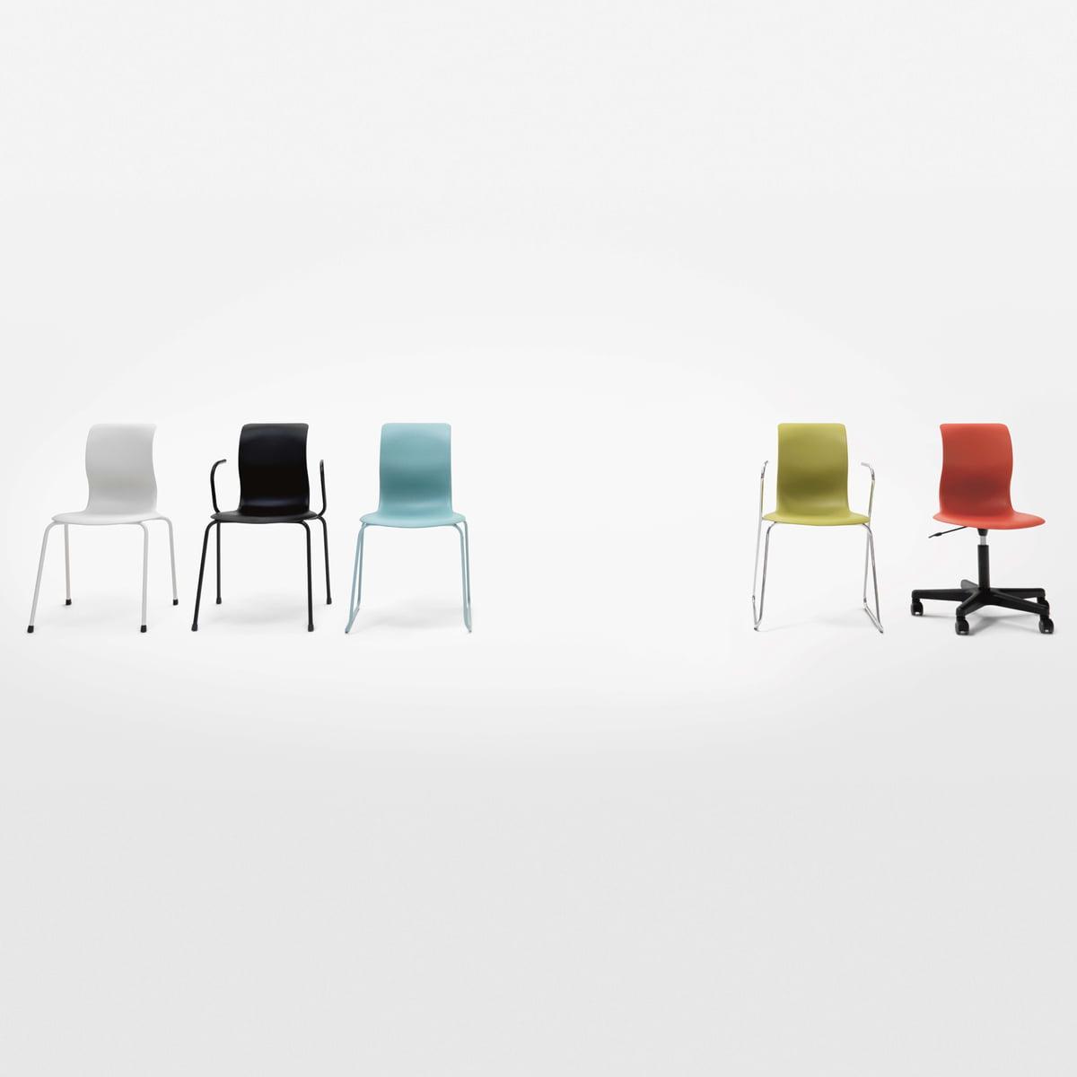 Pro 6 Stuhl Gleitkufengestell von Flötotto