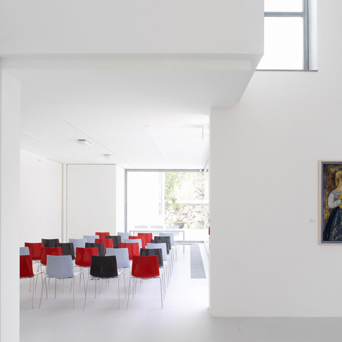 catifa 46 stuhl vierfu gestell von arper connox. Black Bedroom Furniture Sets. Home Design Ideas