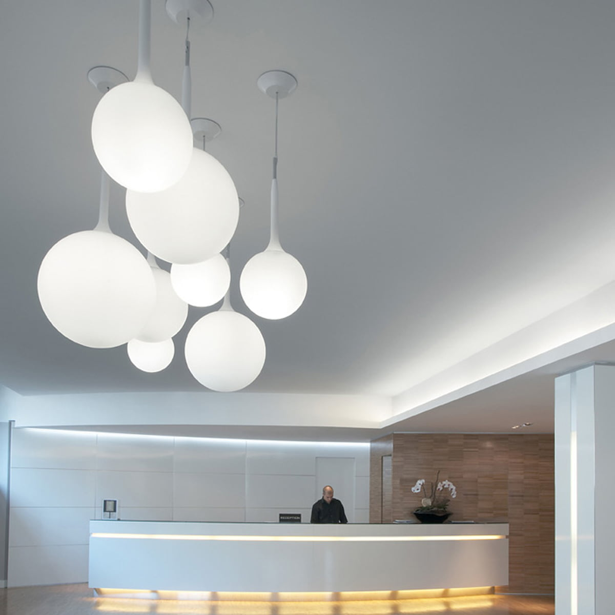 Castore sospensione von artemide im design shop for Artemide luci