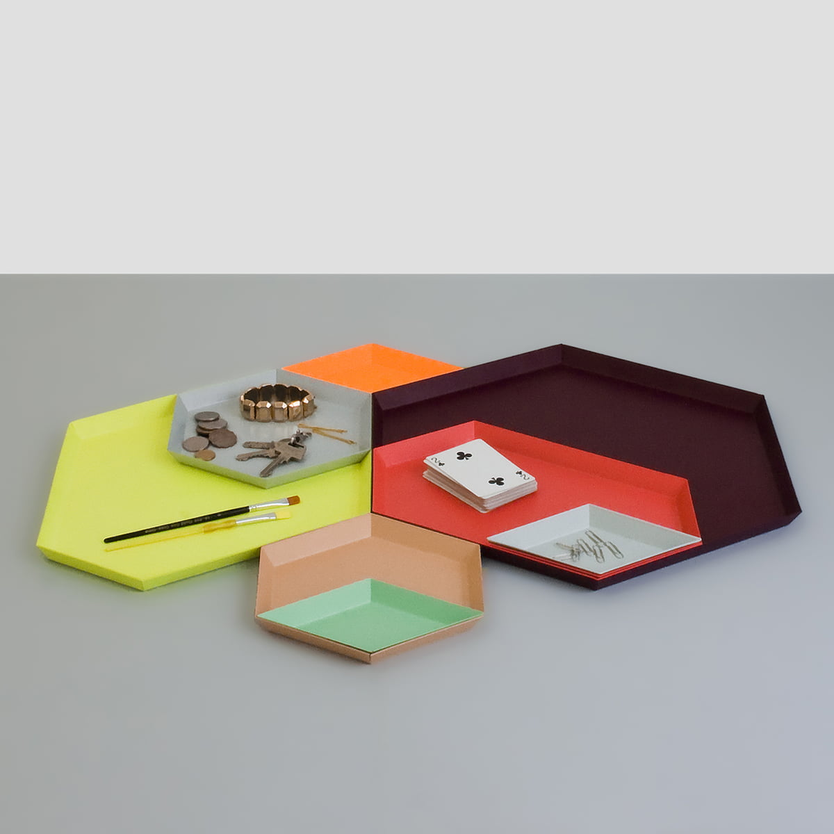 Kaleido tabletts von hay im wohndesign shop for Hay design