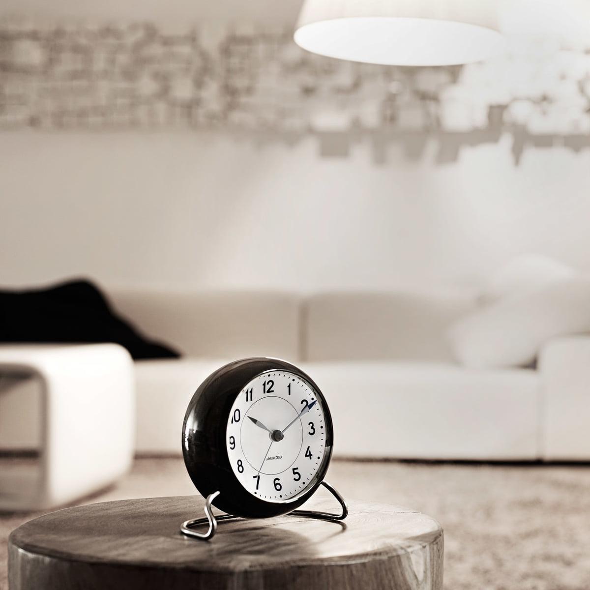 arne jacobsen wecker von rosendahl im shop. Black Bedroom Furniture Sets. Home Design Ideas