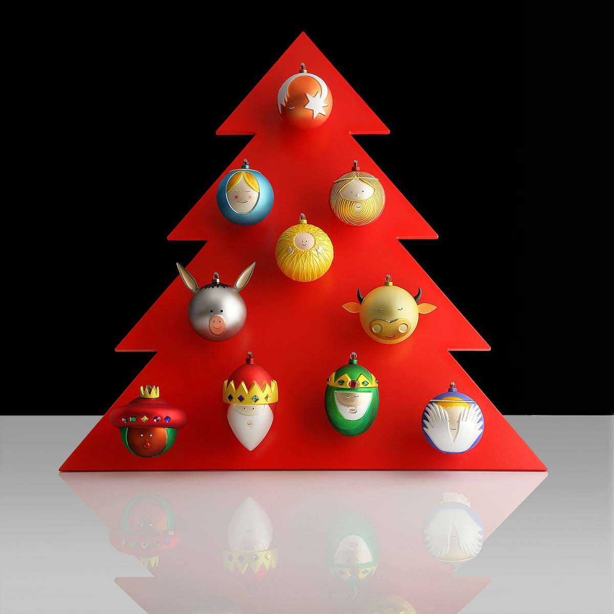 Weihnachtsbaumkugel Heilige Drei Konige