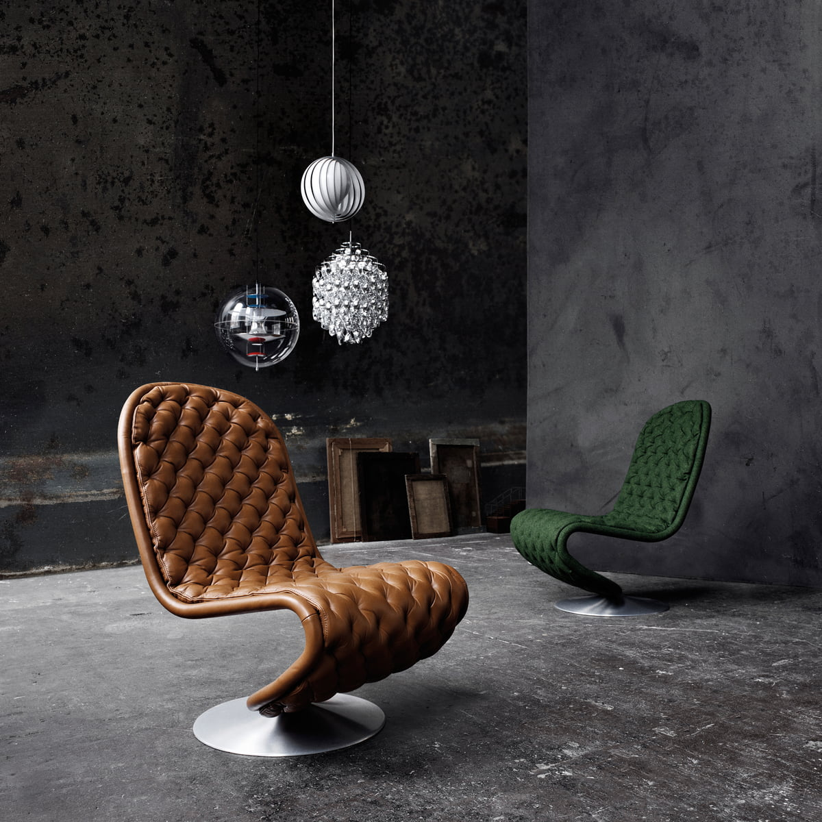 moon pendelleuchte verpan shop. Black Bedroom Furniture Sets. Home Design Ideas