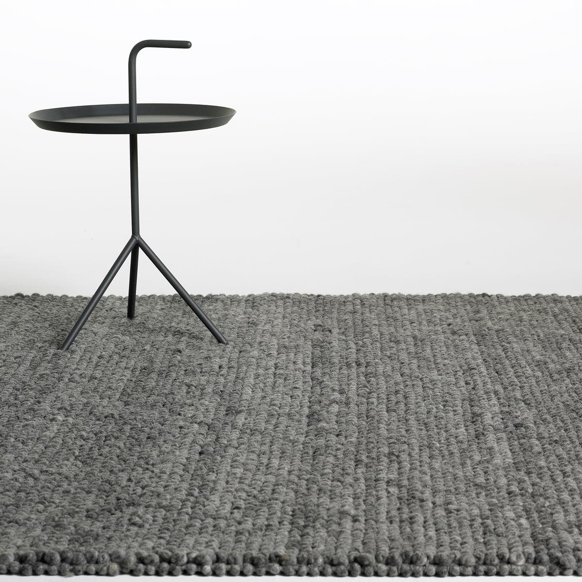 hay peas teppich dark grey connox. Black Bedroom Furniture Sets. Home Design Ideas