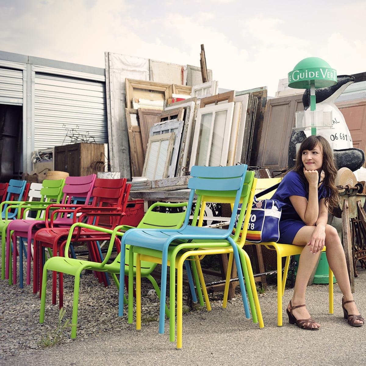 luxembourg sessel von fermob im design shop. Black Bedroom Furniture Sets. Home Design Ideas