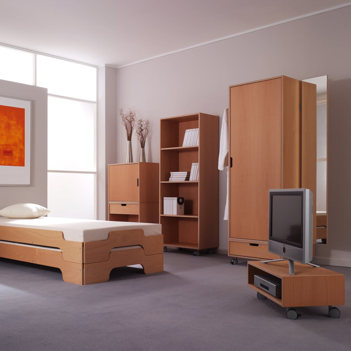modular schrankelement von m ller m belwerkst tten connox. Black Bedroom Furniture Sets. Home Design Ideas