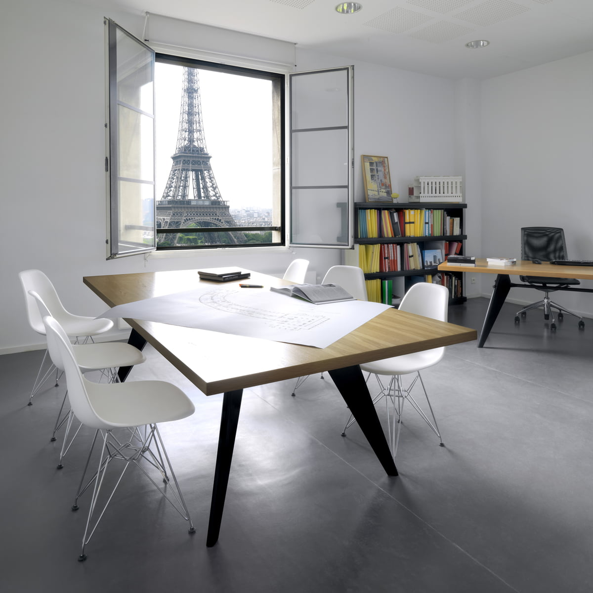 em table esstisch vitra shop. Black Bedroom Furniture Sets. Home Design Ideas