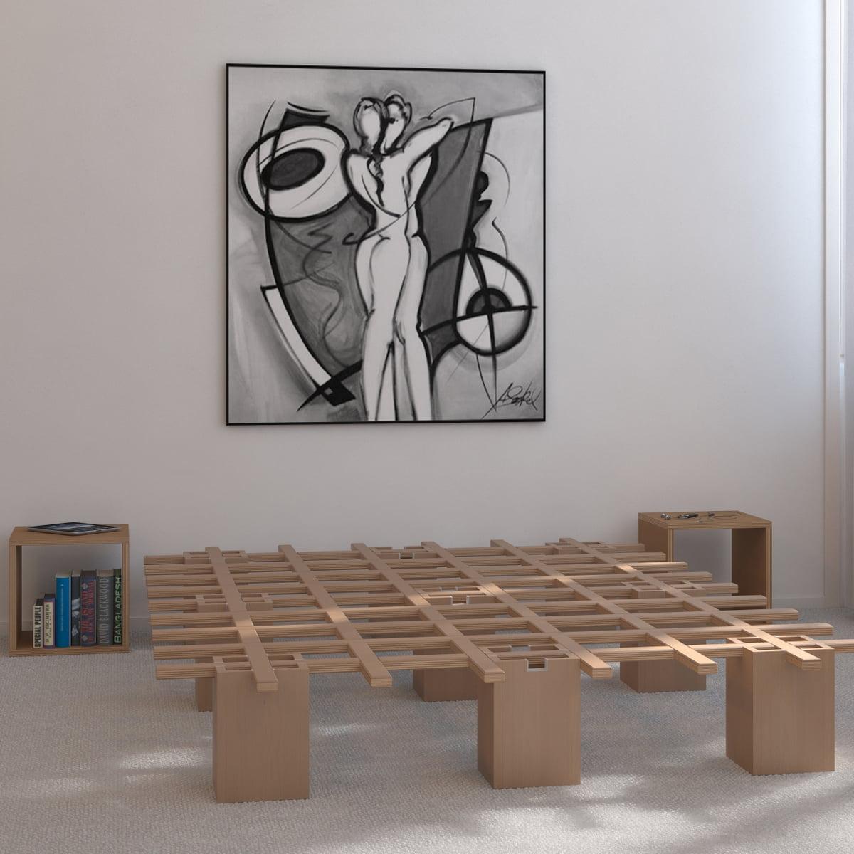 system bett tojo shop. Black Bedroom Furniture Sets. Home Design Ideas