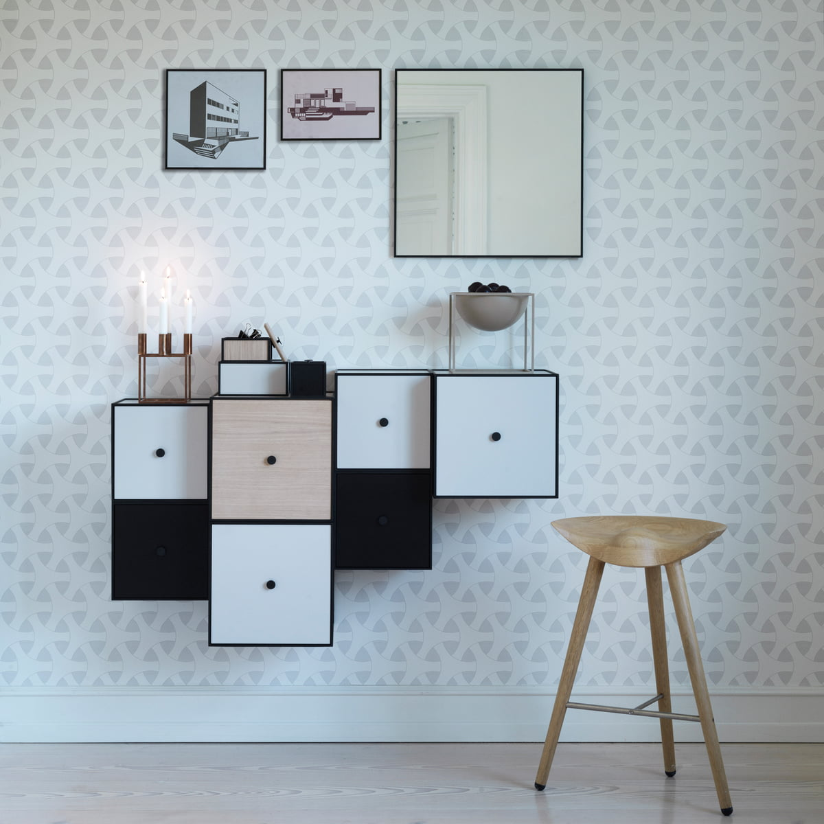 frame wandschrank 42 von by lassen connox. Black Bedroom Furniture Sets. Home Design Ideas