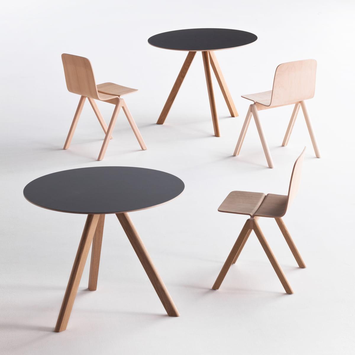 copenhague cph20 bistrotisch von hay. Black Bedroom Furniture Sets. Home Design Ideas