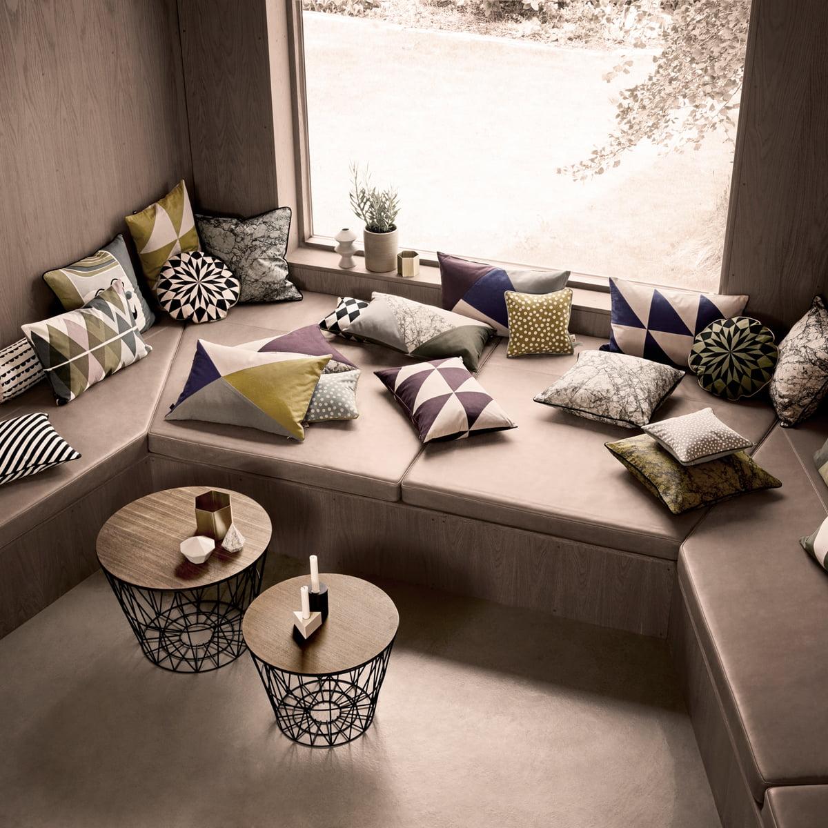 ferm living wire basket large im design shop. Black Bedroom Furniture Sets. Home Design Ideas