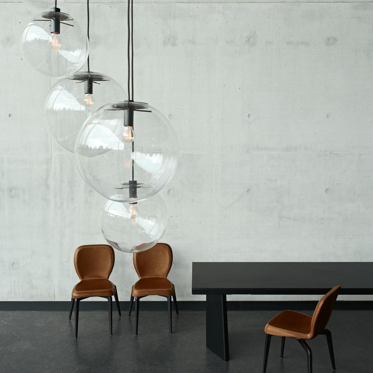 selene pendelleuchte in schwarz von classicon. Black Bedroom Furniture Sets. Home Design Ideas