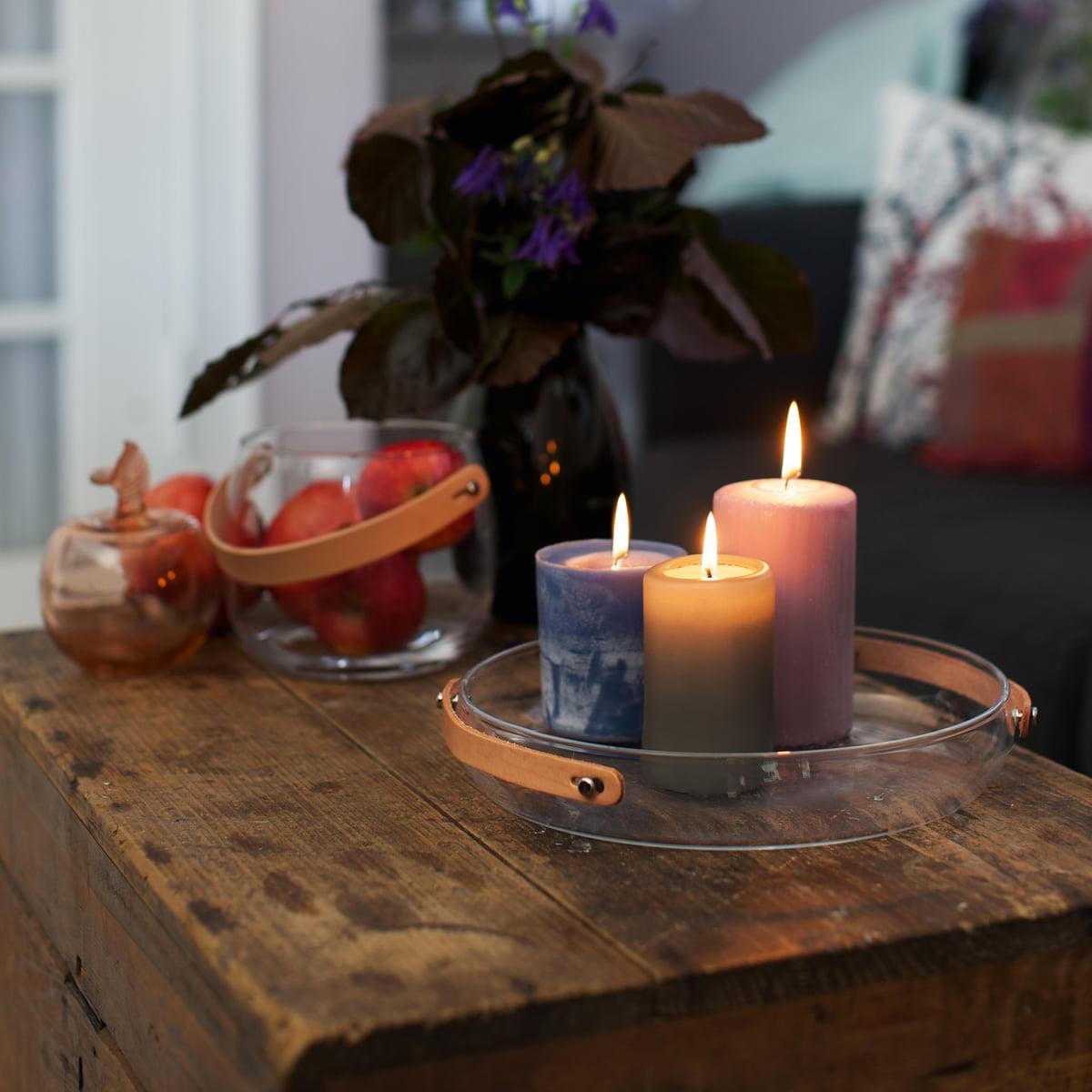 design with light kerzenteller von holmegaard. Black Bedroom Furniture Sets. Home Design Ideas