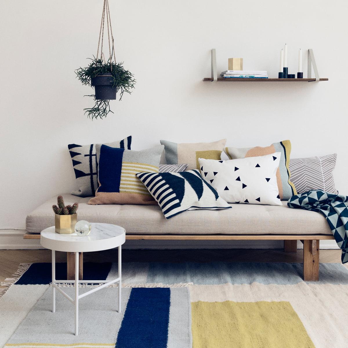 shelf hangers regalsystem von ferm living. marble table von ferm living  connox shop