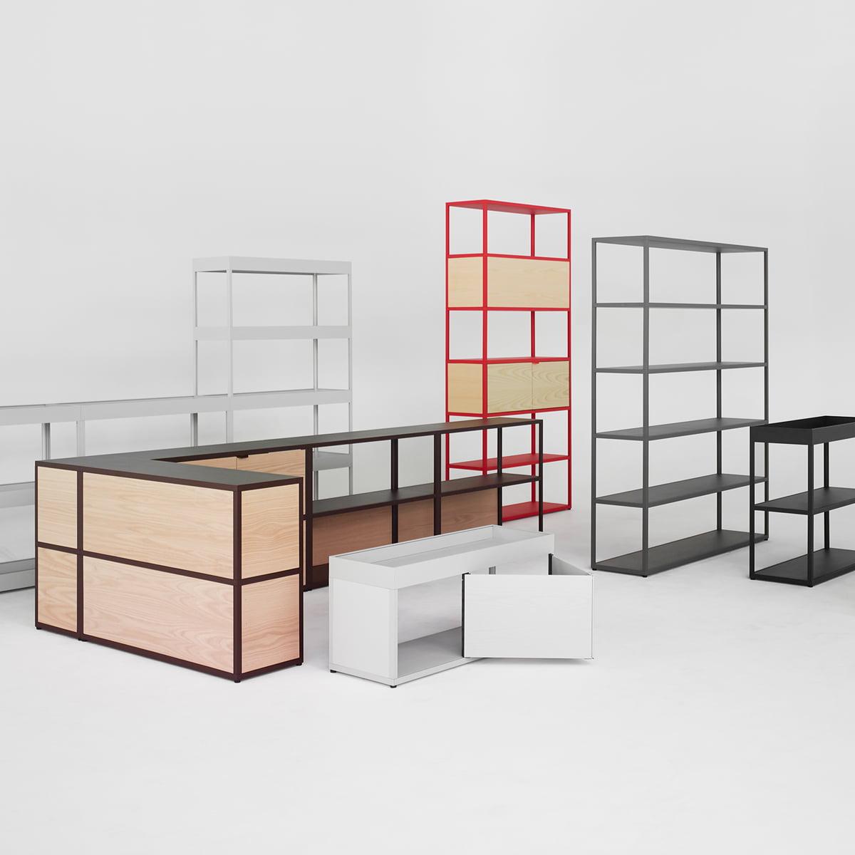 new order shelf von hay connox. Black Bedroom Furniture Sets. Home Design Ideas