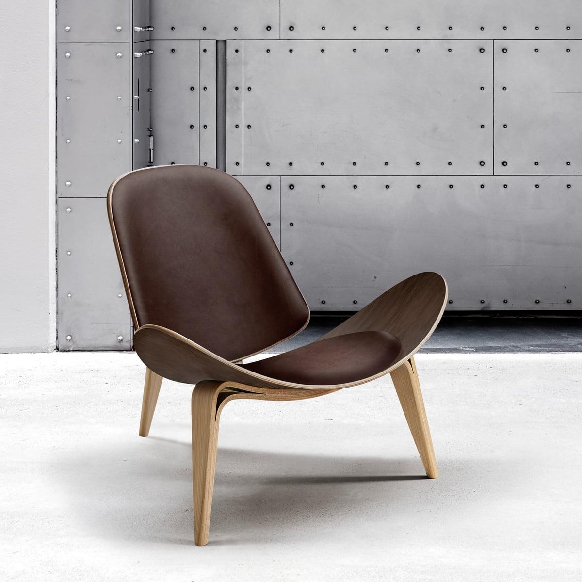 ch07 schalenstuhl von carl hansen connox. Black Bedroom Furniture Sets. Home Design Ideas