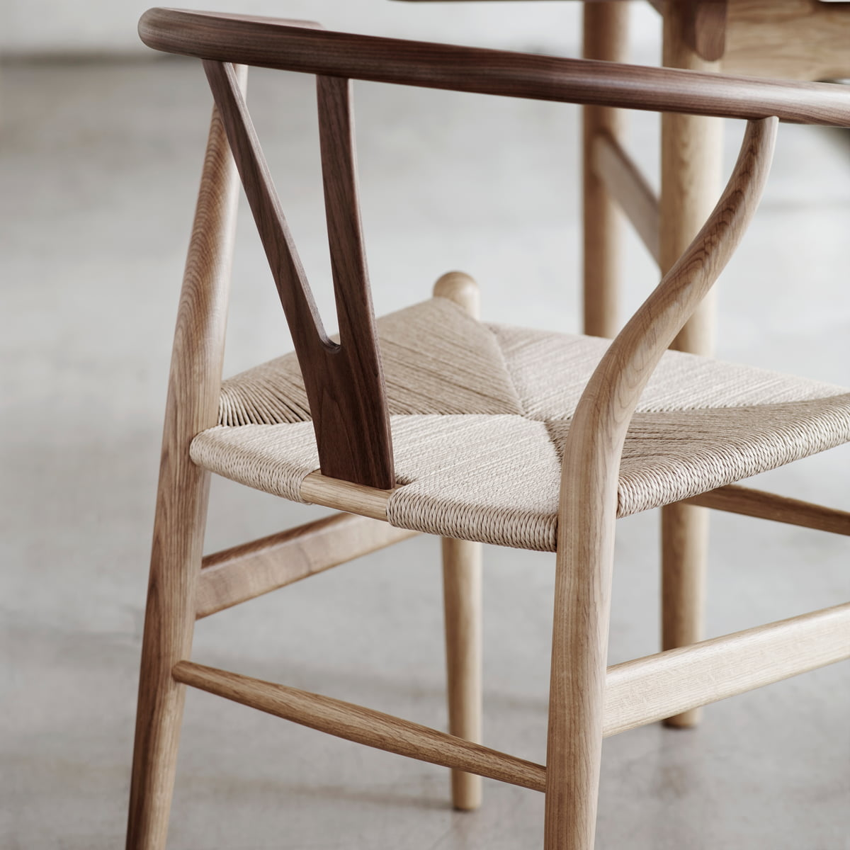 Ch24 Wishbone Chair Von Carl Hansen Connox