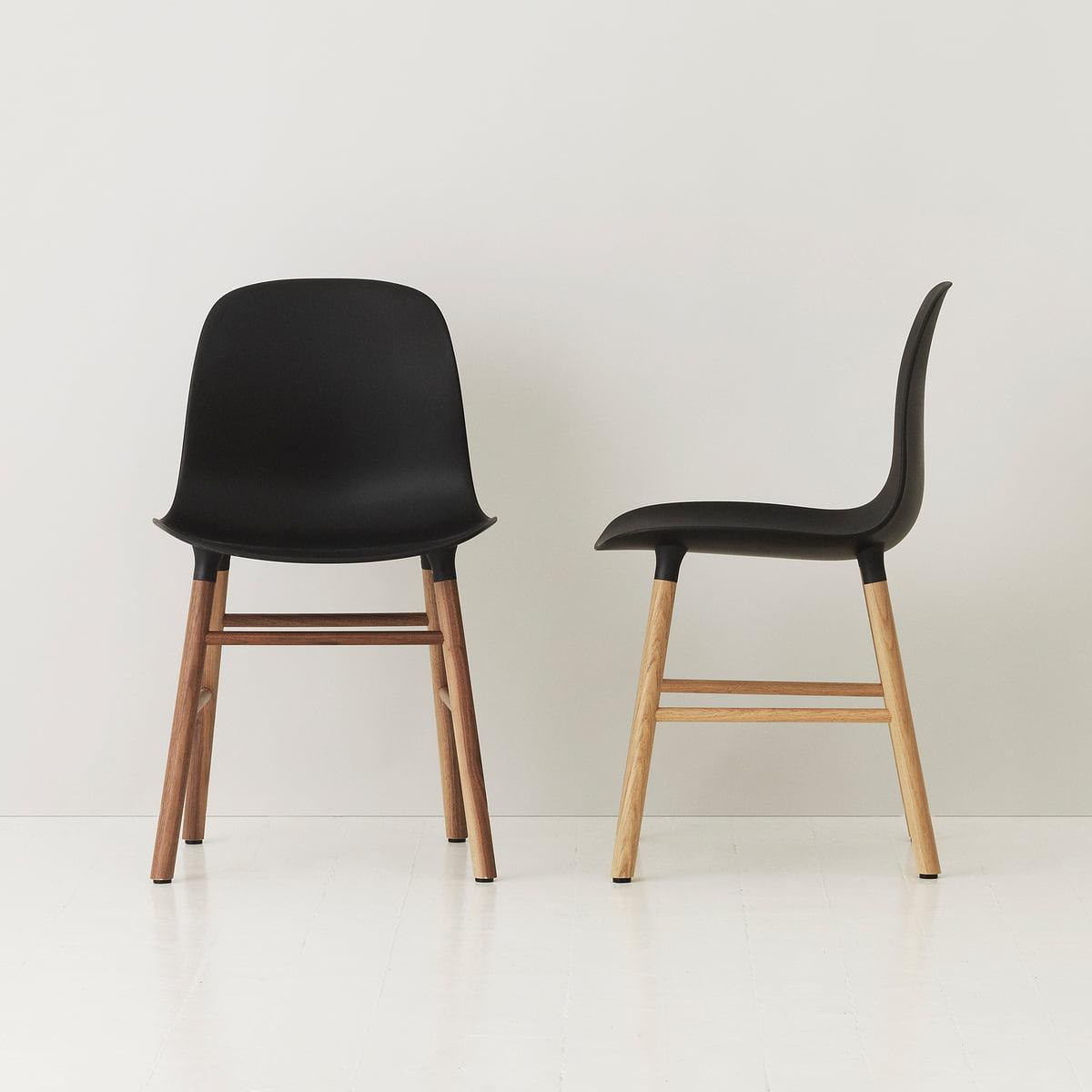 form chair holz von normann copenhagen. Black Bedroom Furniture Sets. Home Design Ideas