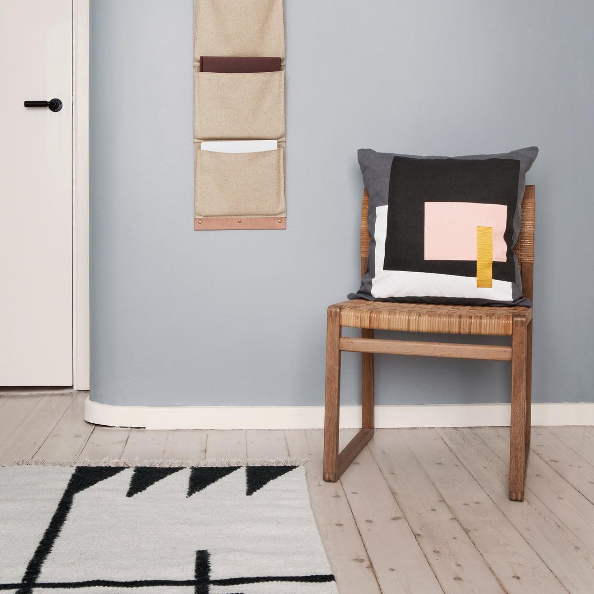 kelim rug von ferm living im design shop. Black Bedroom Furniture Sets. Home Design Ideas
