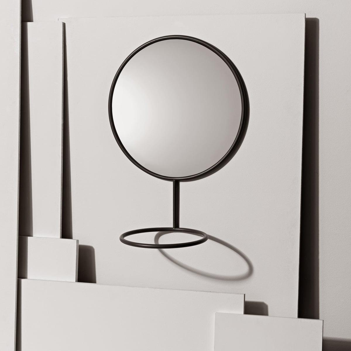 nomess wandspiegel mit ablage jetzt im shop. Black Bedroom Furniture Sets. Home Design Ideas