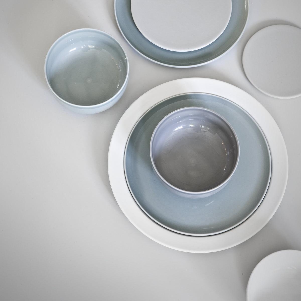 Skandinavisches design geschirr  New Norm Teller / Deckel von Menu im Shop